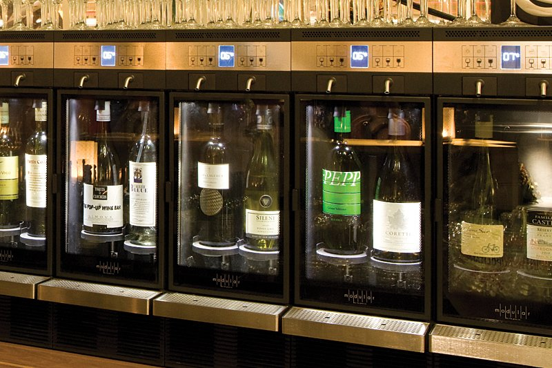 Wine Dispensing and Preservation from Wine Corner