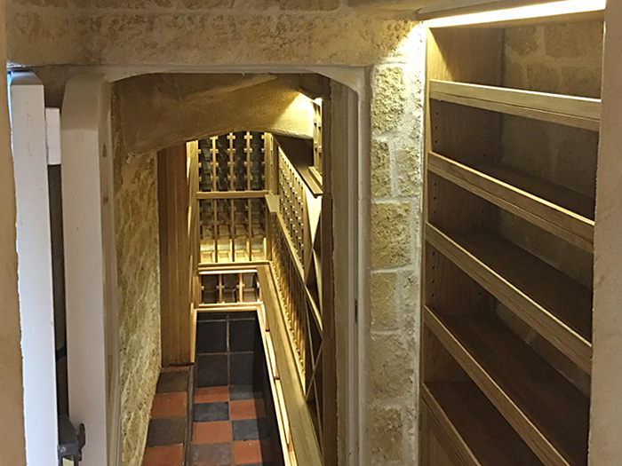 Underground Wine Cellar Design and Build Project Successfully Completed