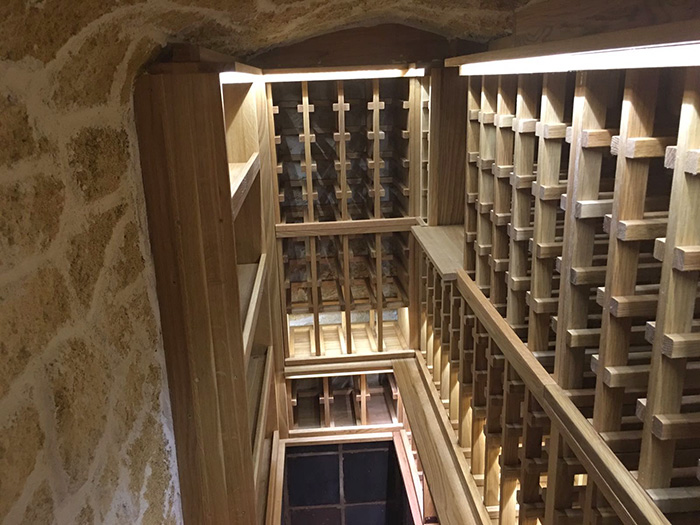 Underground wine cellar design and build project for Cost to build a wine cellar