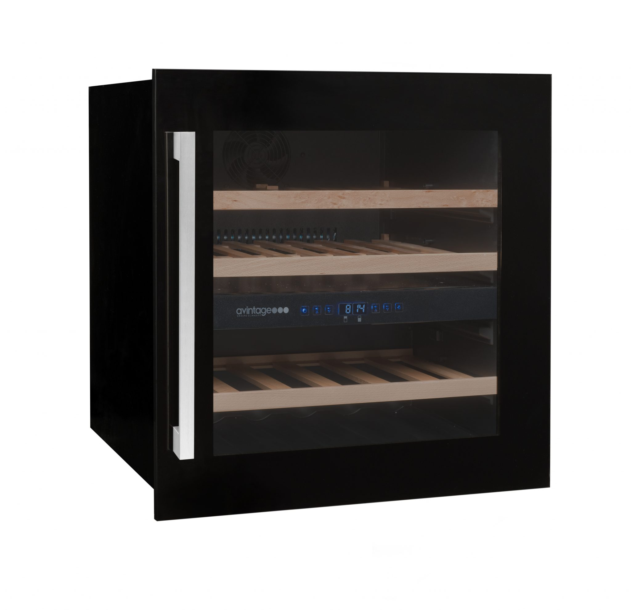 avintage integrated wine cabinet av60cdz wine cellar storage solutions. Black Bedroom Furniture Sets. Home Design Ideas