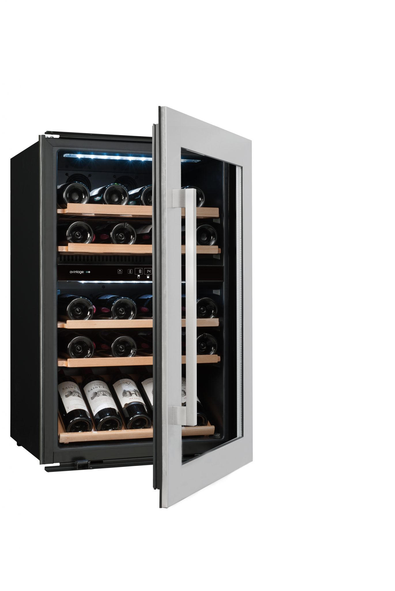 avintage integrated wine cabinet avi47xdz wine cabinet cellar storage solutions. Black Bedroom Furniture Sets. Home Design Ideas