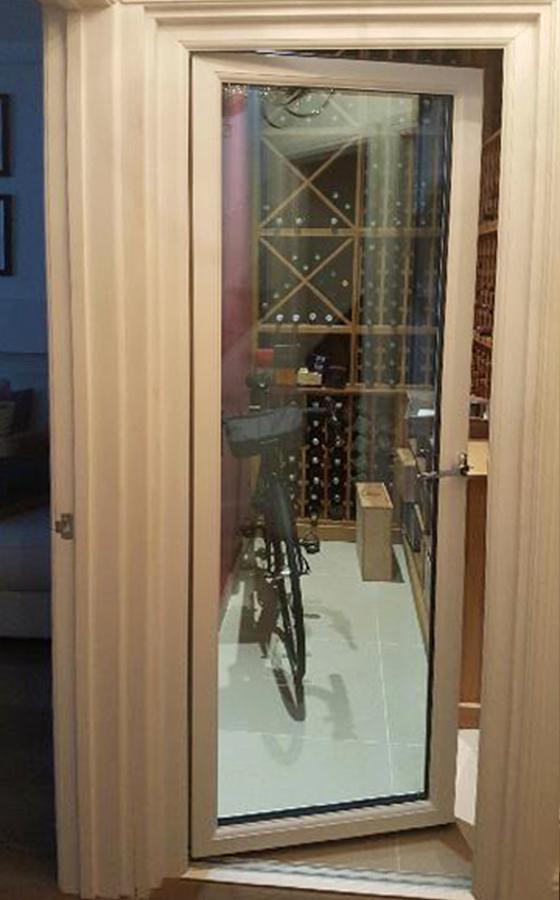 Bespoke Insulated Glazed Wine Cellar Doors From Wine Corner