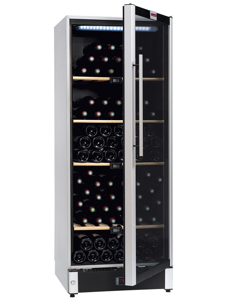 Metal wine cabinet VIP150 from wine corner