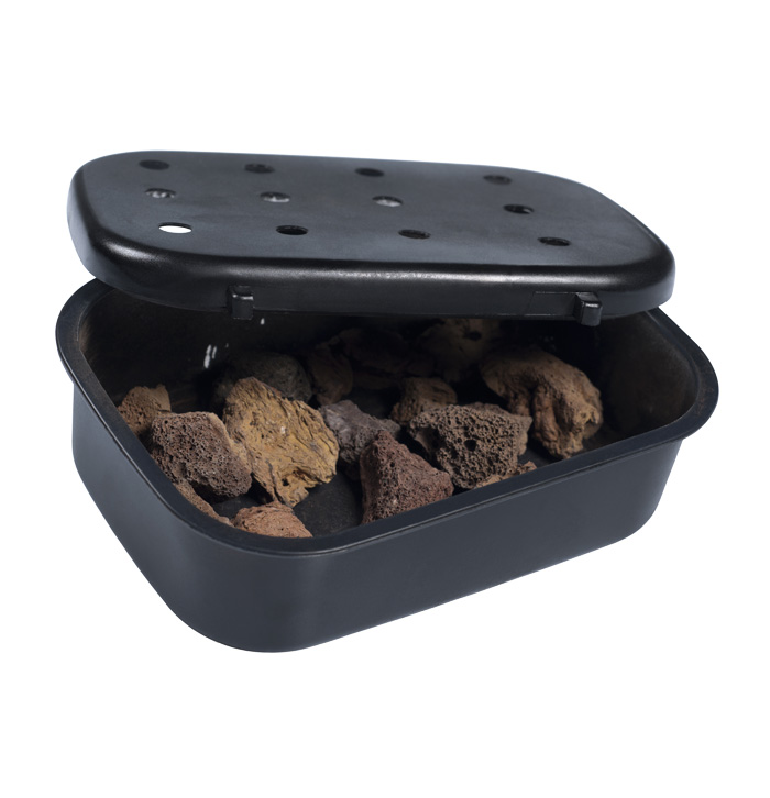 Accessories Lava Stone Box From Wine Corner
