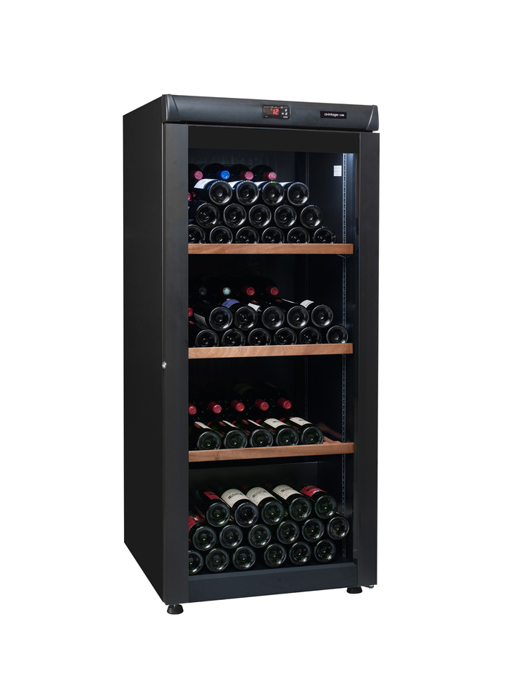 Metal wine cabinet AVV168B04 from wine corner