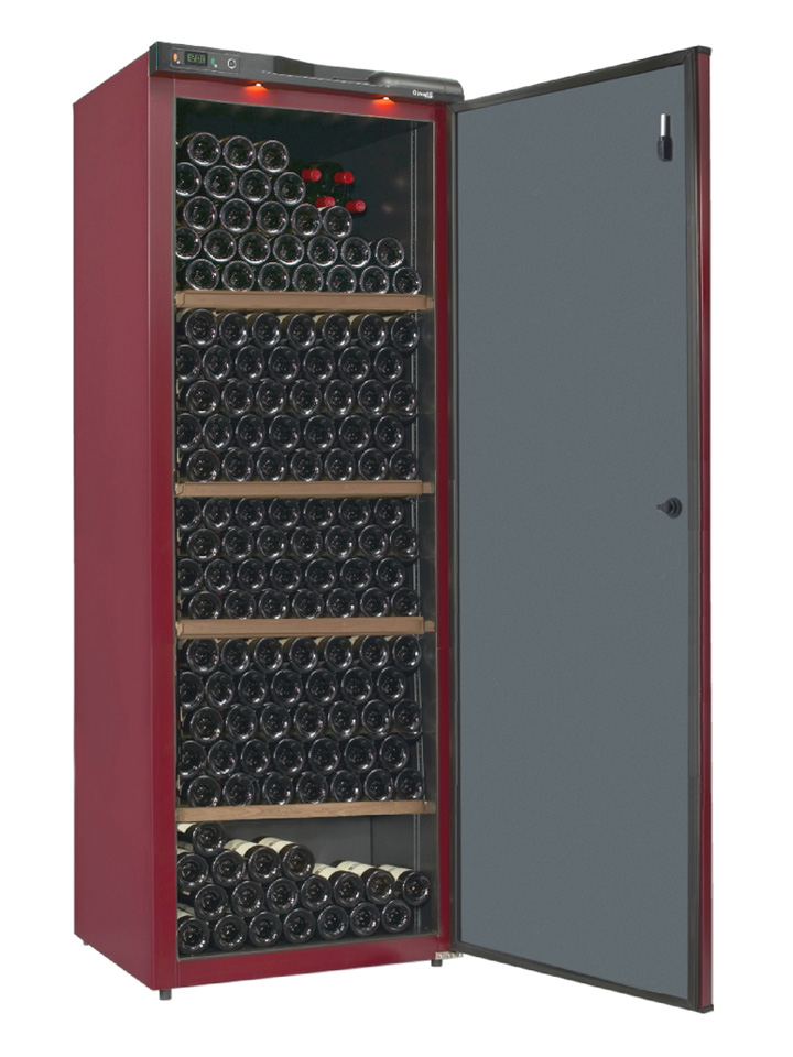 Metal wine cabinet CV297 from wine corner